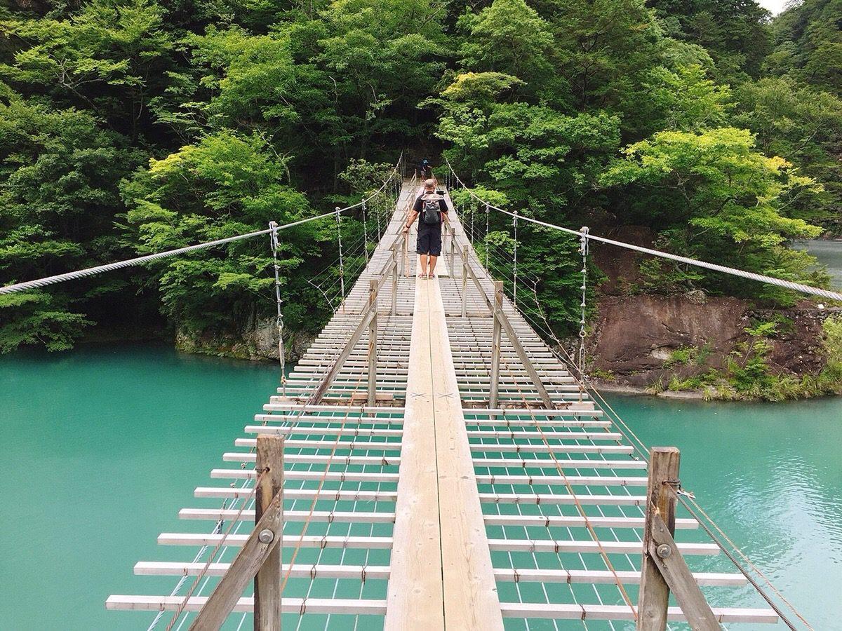 ときどき吊り橋って渡りたくなるよね