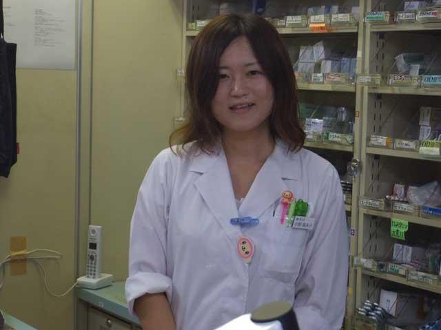 新潟薬科大卒小野(平成27年入社)