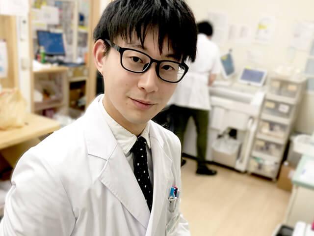 北里大学卒業山田(平成30年入社)